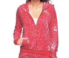 Cute Designer Juicy Couture Jungle Cat Printed Hoodie Pink, size Medium RRP £155