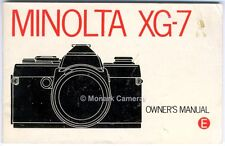 Minolta Dynax 3000i-Manual de folleto de instrucciones de uso