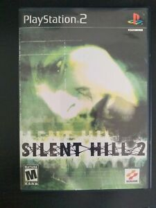Silent Hill 2 (Sony PlayStation 2, PS2, 2001) Black Label CiB Complete w/ Manual