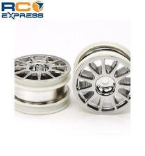 Tamiya M-Chassis 11-Spoke Wheels (Chrome Plated, 2pcs.) TAM54824