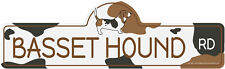 Basset Hound Dog Decal | Dog Lover D�cor Vinyl Sticker