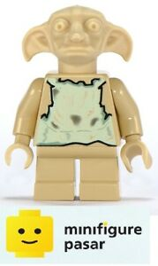 hp017 Lego Harry Potter 4731 - Dobby Elf Tan Minifigure - New