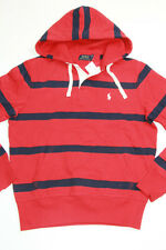 Ralph Lauren Polo Small Pony Red Jacket Hoodie Pullover Sweater Large L