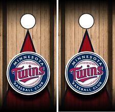 Minnesota Twins Cornhole Vinyl Wrap MLB Protection Skin Baseball Team Decal ML24