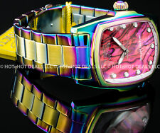 Invicta Mens Grand Lupah Special Edition Abalone Dial Iridescent Bracelet Watch