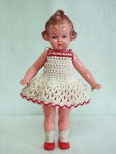 61) vieja Celluloid muñeca muñeca 18 cm antiguo las marcas comerciales