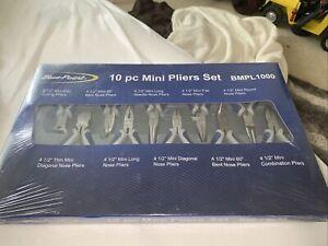 Blue Point 10-pc Miniature Pliers And Cutters Set BMPL1000