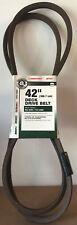 "GENUINE MTD 42"" Deck Drive Belt OEM 954-0485 / 754-0485 MTD, Troy-Bilt, Bolens"