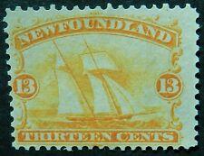 Newfoundland Canada 1865 13 cents SG 29 Unused no gum cat£120