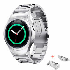 Metal Stainless Steel Link Butterfly Band Strap For Samsung Gear S2 SM720 Watch