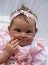 22'' Reborn Baby girl Dolls Realistic Lifelike Soft Silicone Newborn Baby gifts