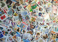 Canada Stamp Collection - 1,000 Different Stamps