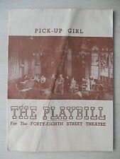 February 1945 - Alvin Theatre Playbill - The Tempest - Vera Zorina - Canada Lee