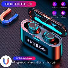 Wireless Bluetooth 5.0 Headset Bone Conduction Sport Headphone Earphone with Mic