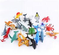 24x Sea Life Model Pool Fish Toy Educational Marine Animals Kids Figure Gift BDA