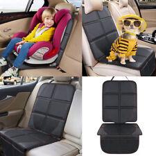 Autositzauflage Sitzschoner Sitzschutz Kindersitzunterlage schwarz Schonbezug DE
