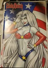 Lady Death Oblivion Kiss #1 Naughty Edition Independence Day Bill Mckay