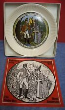 "Wedgwood Children's Story Plate 1972 The Tinder Box Hans Christian Anderson 6"" D"