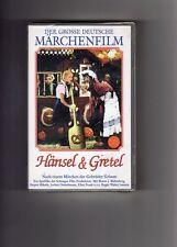 Der Grosse Deutsche Märchenfilm  Hänsel & Gretel  VHS Rarität  NEU