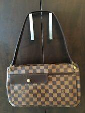 AUTHENTIC LOUIS VUITTON Damier Aubagne Shoulder Bag N51129