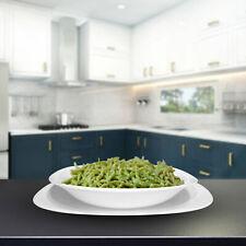 Servizio 18 Piatti Piatto Bianco Per Dessert Vetro Temperato Parma Bormioli