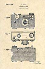Official 35mm Camera US Patent Art Print-  Vintage Argus Official Antique 253