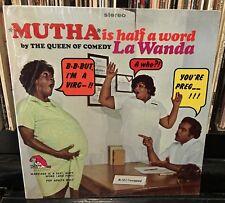 sealed LA WANDA / MUTHA is half a word 1971 Laff Records – A142