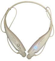 OEM LG Tone+ HBS-730 Plus Wireless Bluetooth Neckband In-Ear Headset White