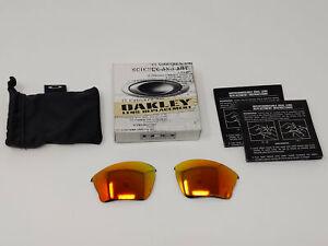 Oakley Half Jacket XLJ 13-432 Fire Polarized Authentic Replacement Lenses A&S