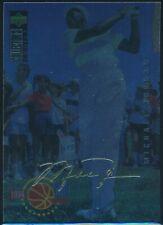 1994-95 UPPER DECK COLLECTOR'S CHOICE MICHAEL JORDAN GOLD SIG CARD #204  NRMT