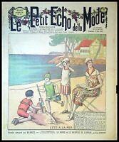 Le Petit Echo de la Mode année 1925, Ancien magazine Français N°25