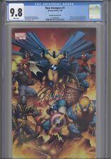 New Avengers #1 CGC 9.8 2005 Marvel Quesada Variant 1st App Spider-Woman Sentry