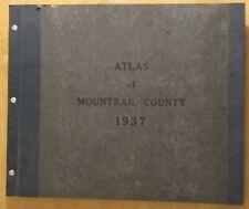 New Listing1937 atlas of Mountrail County, North Dakota (Works Progress Administration)