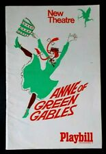 Anne of Green Gables programme New Theatre 1969 (4.11) Polly James Hiram Sherman