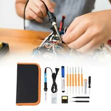 Electric Gun Welding Soldering Iron Tool Kit Adjustable 19in1 Temperature Samger