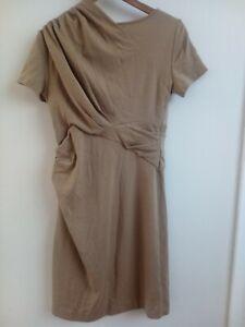 Designer Catherine malandrino quality pure extra fine Merino wool dress s10