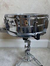 "Vintage 60s Keystone Badge Ludwig 5"" x 14""  Super Sensitive Snare Drum"