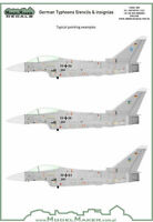 Model Maker Decals 1/72 German EF-2000A Typhoon Stencils and Insignias # D72095