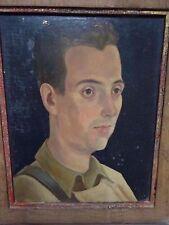 Peinture portrait Huile sur Panneau ritratto olio neue sachlichkeit Ölgemälde