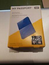 Western Digital Portable External Hard Drive 1 TB in Blue