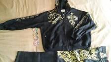 COOGI Crown Holder Hooded Jacket & Matching Denim pants$220 LessThanRetailStores