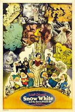 "Walt Disney Snow White and the 7 Dwarfs Movie Poster Replica 13x19"" Photo Print"