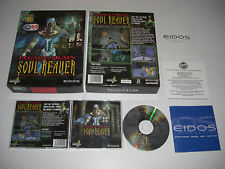 Soul Reaver 1-LEGACY OF KAIN PC CD ROM Original Caja Grande post rápido y seguro