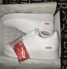 *FREE P&P* Supreme Nike Air Force 1 Low Lot White Size UK7 / US8 / EUR41 / 26cm