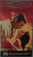 Gone With The Wind / The Making Of A Legend - Australian VHS (Sealed Tapes) Rare