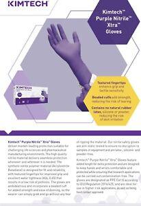 150(3x50)---XTRA-Proffesional Kimtech nitrile gloves  Size L(8.5)