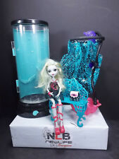 Monster High Lagoona Blue Hydration Station, Shower, Bench, & Doll W/ Purse