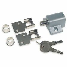 BATTALION SLIDING PATIO DOOR WINDOW LOCK KEYED SECURITY ALUMINUM MINI BOLT