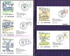 BRD 1997: Wasser- und Windmühlen! Wohlfahrt-FDC Nr 1948-1952!  Gelaufen! 1A 1806