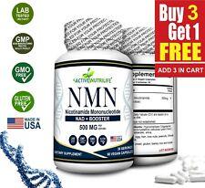NMN Βeta-Nicotinamide Mononucleotide 500mg/ Serve - 60 Capsules.
